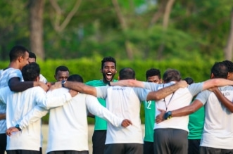 تدريبات الاخضر قبل مباراة السعودية ضد أوزبكستان