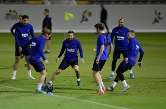 التشكيل المتوقع لمباراة برشلونة وأتلتيكو مدريد في السوبر الإسباني - المواطن