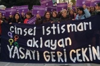 احتجاج الأتراك