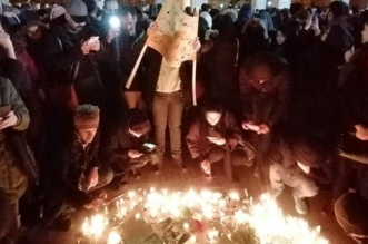 تمزيق صورة خامنئي في طهران وهتافات ضد النظام - المواطن