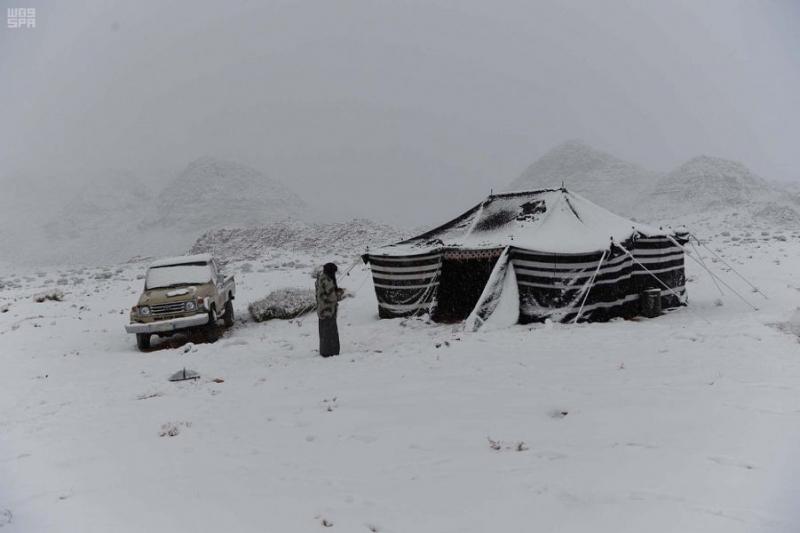 الثلوج القطبية .. وجهة سياحية لأهالي تبوك - المواطن