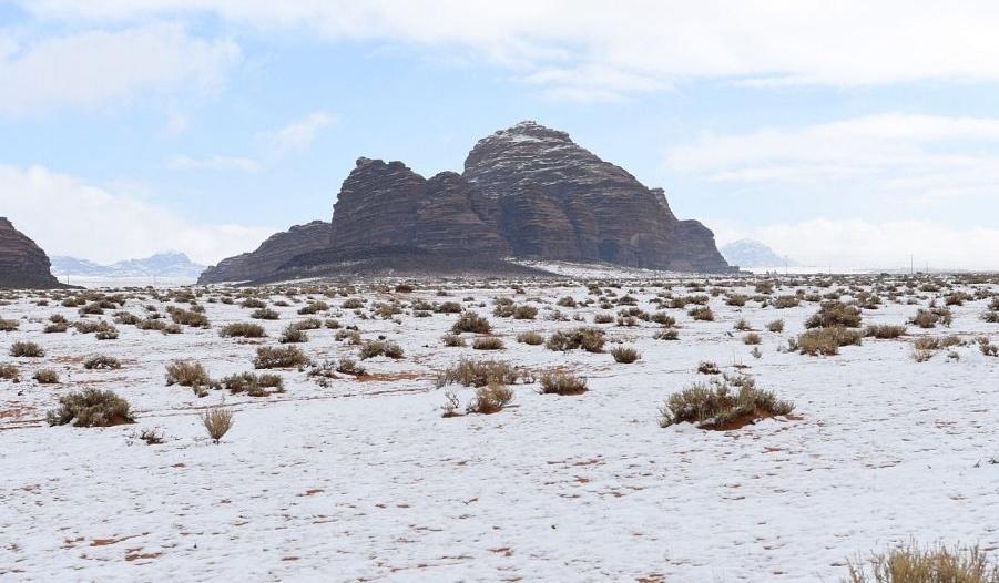 تراجع درجة الحرارة غدًا وتساقط الثلوج على 3 مناطق