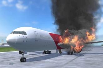 فيديو .. انفجار محرك طائرة تقل 208 أشخاص - المواطن