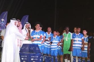 تتويج الفائزين بدوري المدارس