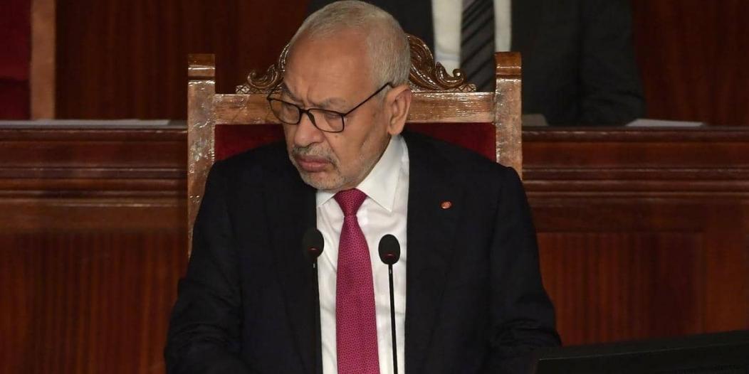 الغنوشي يطالب قوات الأمن بفض اعتصام نواب الدستور الحر بالقوة