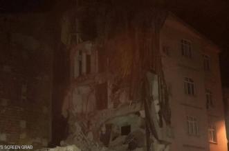 مبان تدمرت بسبب زلزال تركيا