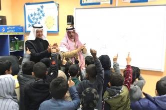 حمد آل الشيخ في مدرسة بالرياض