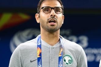 المدير الفني سعد الشهري