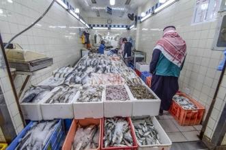 ضبط اسماك فاسدة في الرياض