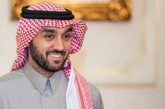 وزير الرياضة عبدالعزيز بن تركي الفيصل