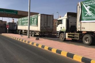 25 شاحنةتعبر منفذ الوديعة متوجهة لمحافظات يمنية - المواطن