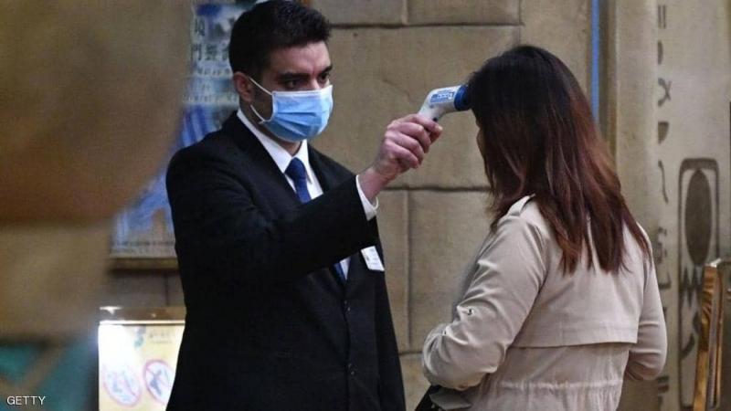 فيروس كورونا الجديد في أوروبا