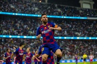 ميسي مع برشلونة