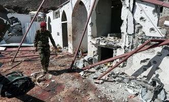 أثار القصف الحوثى على جامع مأرب