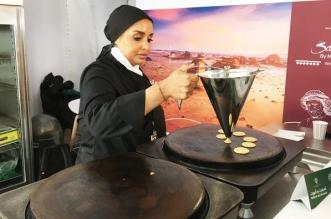 لاول مرة مقهي سعودي في جبال الألب