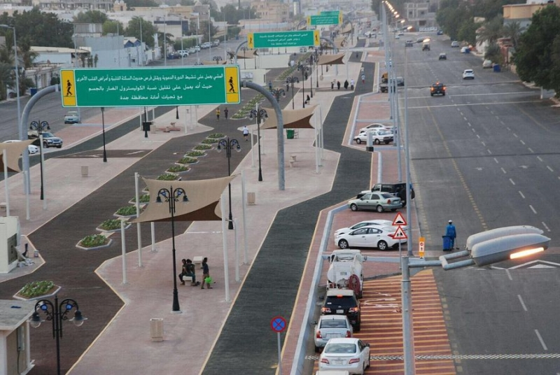 كورنيش جدة يستهوي العوائل مع بداية إجازة نصف العام - المواطن