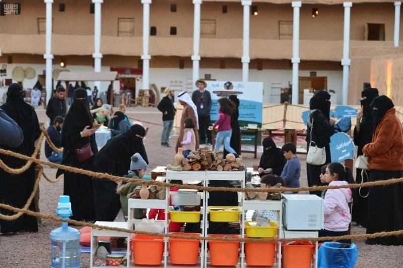 فعاليات وألعاب ومعرض فنون في موسم حائل - المواطن