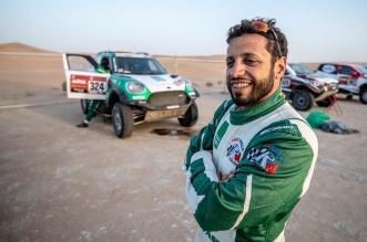 السائق السعودي ياسر بن سعيدان