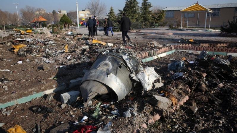 نتائج من تحقيقات تحطم الطائرة الأوكرانية