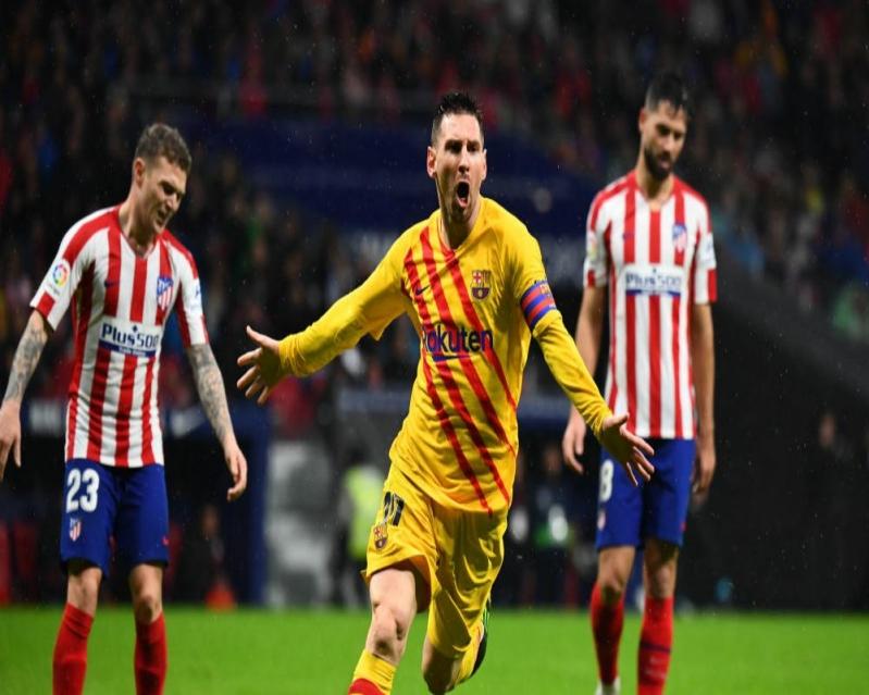 موعد قمة برشلونة ضد أتلتيكو مدريد والقناة الناقلة