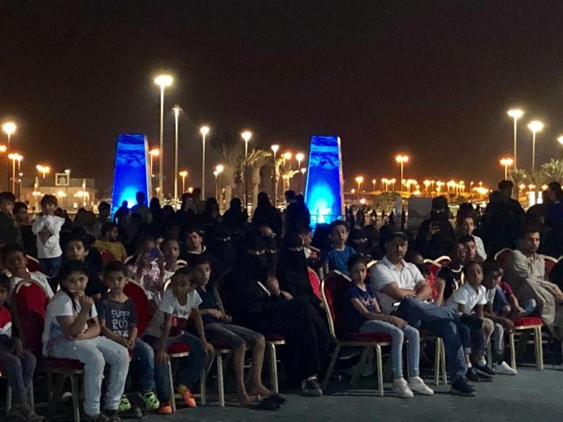 فيديو.. عروض تشويقية وحماسية في الواجهة البحرية بعسير - المواطن