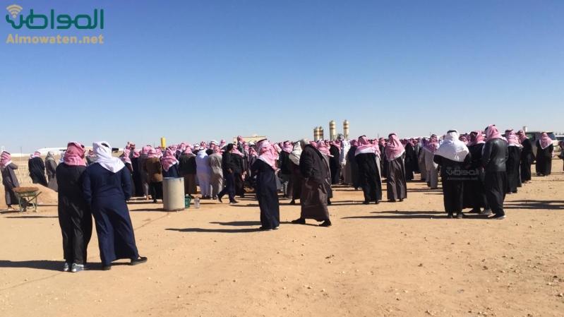 وفاة مواطن ساجدًا في حفر الباطن