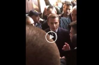 فيديو.. مشادة بين الرئيس الفرنسي والشرطة الإسرائيلية في القدس - المواطن