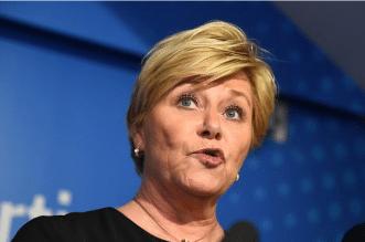 انهيار الحكومة النرويجية بسبب قرار لـ إيرنا سولبرج