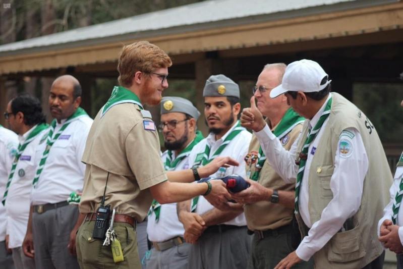صور.. اختتام برنامج الرحلات التدريبية الكشفية السعودية في فلوريدا