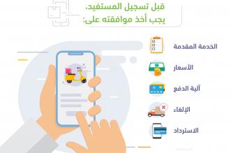5 أمور يجب موافقة المستفيد عليها بخدمة التوصيل عبر التطبيقات - المواطن