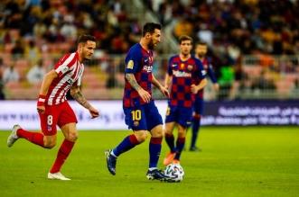 التعادل السلبي يحسم الشوط الأول بين برشلونة وأتلتيكو مدريد - المواطن