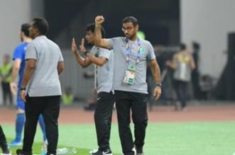 سعد الشهري في مباراة السعودية وأوزبكستان