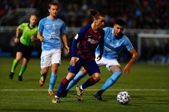 برشلونة يهزم إيبيزا