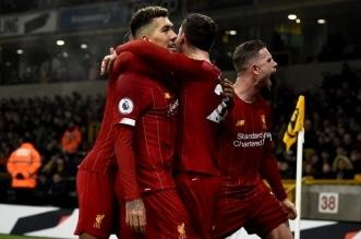 ليفربول يواصل الانفراد بصدارة الدوري الإنجليزي