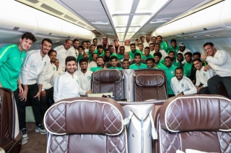 المنتخب السعودي في الرياض