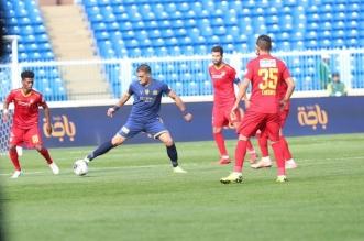 حمدالله في مباراة ضمك ضد النصر