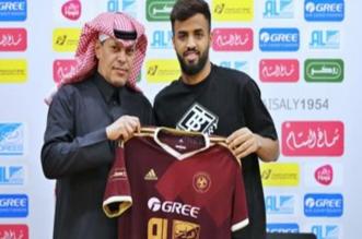محمد الصيعري لاعب الحزم السابق