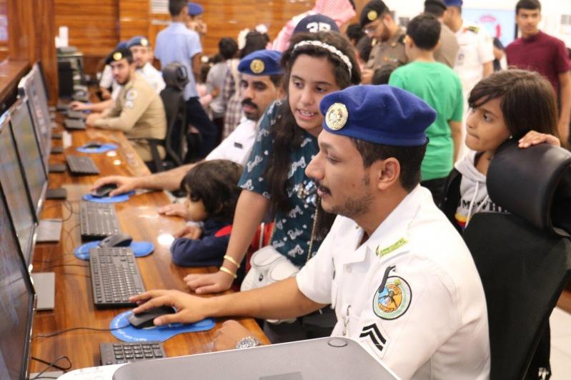 أبناء شهداء الواجب يحضرون التدريبات الميدانية لحرس الحدود