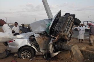 حادث مروري في إسكان الحصمة