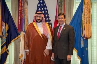 خالد بن سلمان يناقش مع وزير الدفاع الأمريكي تطورات الأحداث - المواطن