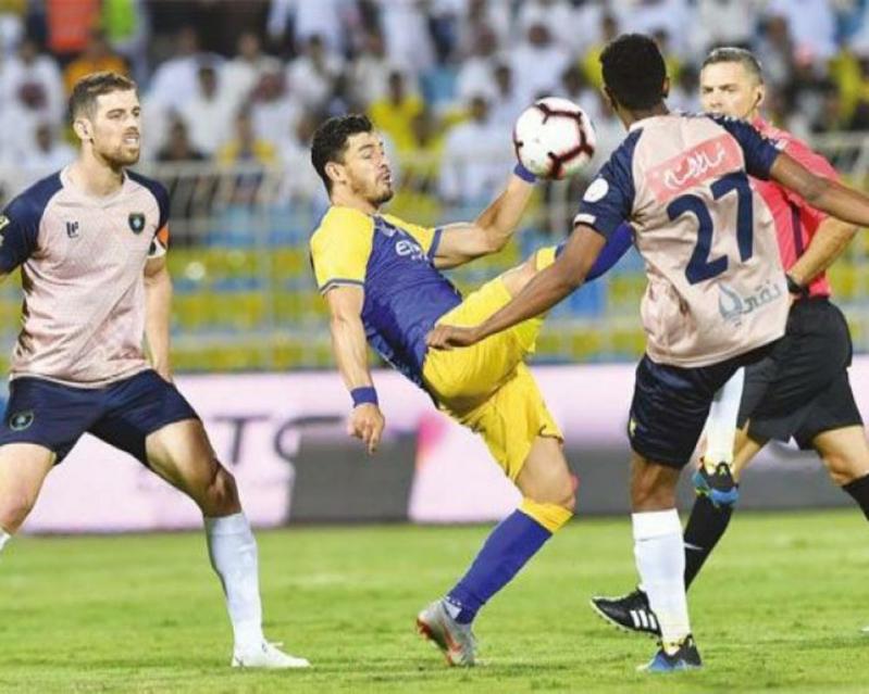 القناة الناقلة لـ مباراة النصر والتعاون