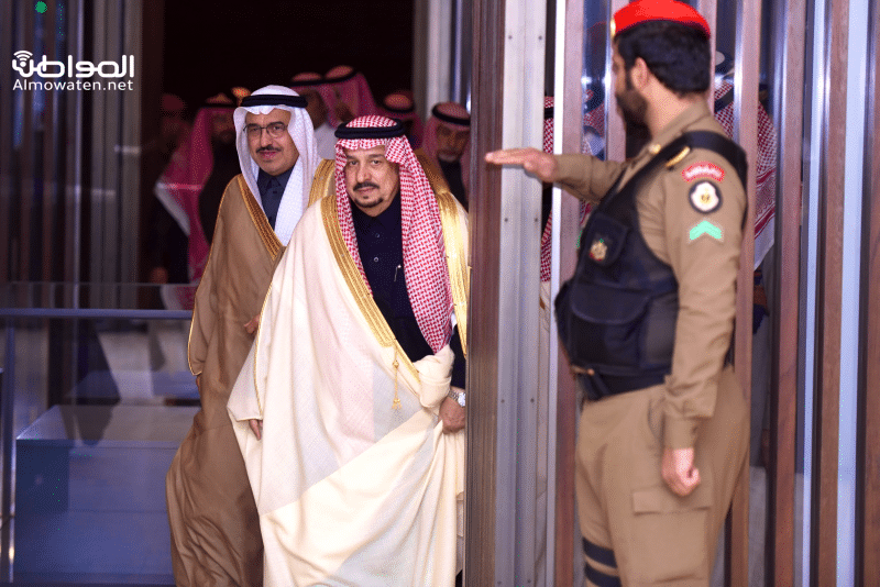 أمير الرياض يكرم الفائزين بمسابقة حواركم