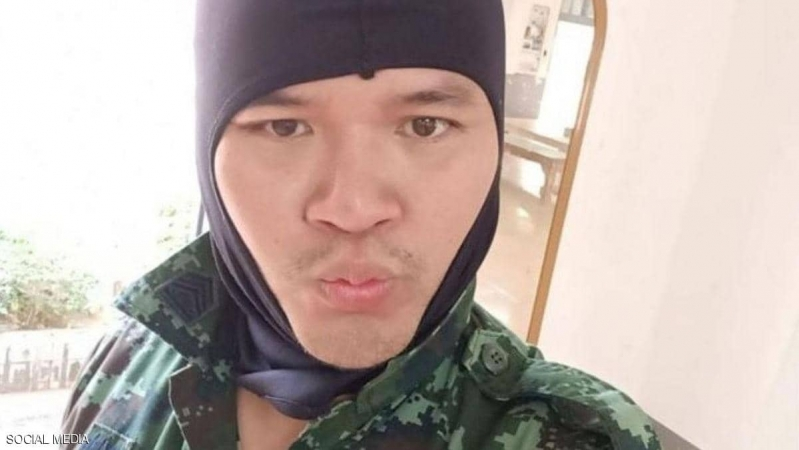 إطلاق نار في موقع مذبحة تايلاند وأول صورة للقاتل