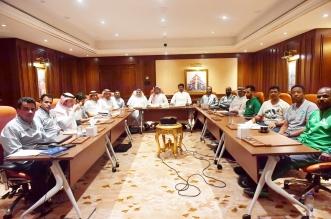 اجتماع ادارة التطوير مع مديري مراكز التدريب