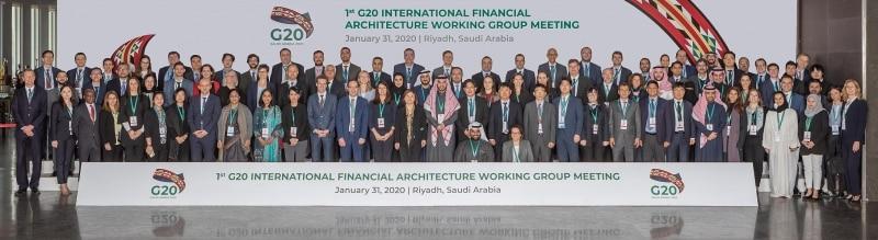 مجموعة عمل الهيكل المالي الدولي لمجموعة العشرين
