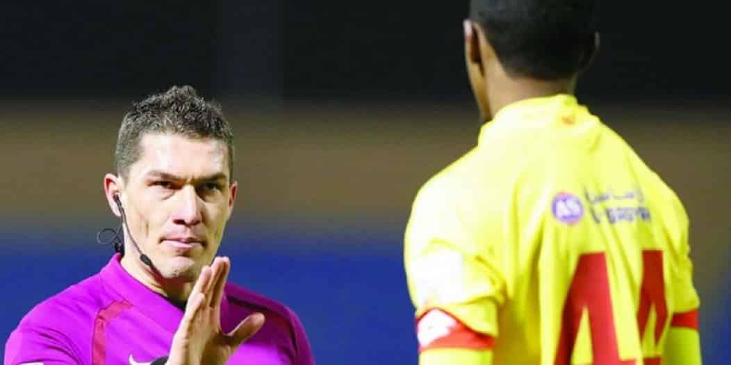 روماني يُدير مباراة الحزم والفيصلي في دوري محمد بن سلمان