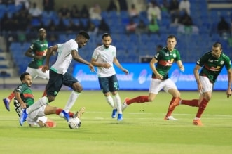 الاهلي ضد الاتفاق في الدوري السعودي