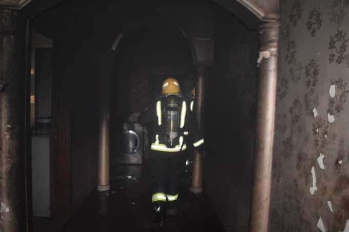 5 إصابات في حريق منزل بالرياض