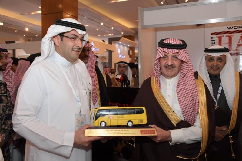 مشاركة النقل التعليمي في معرض السلامة المرورية في الشرقية