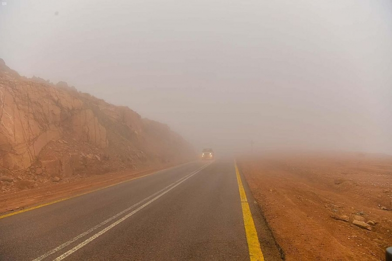 حالة الطقس غدًا .. ضباب وأمطار على 5 مناطق